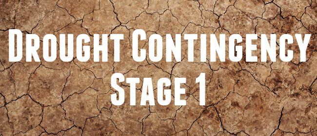Drought Contingency Stage 1